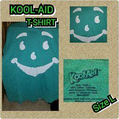 Kool-aid T-SHIRT Antique Kool-aid GREEN T-SHIRT no problems at all very clean Kool-aid  Tops Tees - Short Sleeve