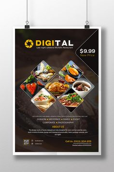 Canteen Restaurant Hotel Food Poster Design PSD#pikbest#Templates#Poster#Food Food Poster Design, Graphic Design Brochure, Sports Graphic Design, Menu Card Design, Food Menu Design, Banner Design, Stationery Design, Restaurant Poster, Restaurant Menu Design