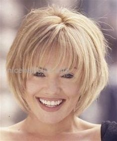 layered+with+full+bangs+with+fine+hair layered+with+full+bangs+with+fine+hair More from my siteShort Layered Hairstyles with Bangs Short Layered Hairstyles with Bangs Short Layered Hairstyles for Women Over 50 with Round Faces Short Hair With Layers, Short Hair Cuts, Bob With Fringe Fine Hair, Layered Bob With Bangs, Hair Layers, Short Bob Hairstyles, Cool Hairstyles, Hairdos, Wedge Bob Haircuts