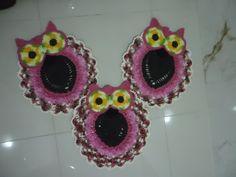conjunto de banheiro corujas rosas <br> <br>faça sua encomenda e escolha a cor.