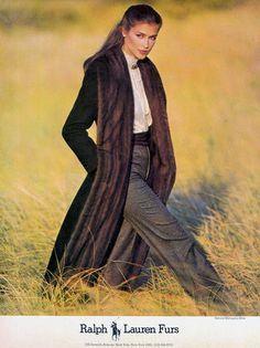 CLOTILDE Ralph Lauren Ad   1980s