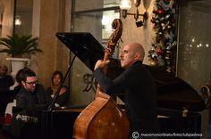 Enzo Pietropaoli e Julian Mazzariello all'ouverture del XV Padova Jazz Festival, domenica 11 novembre al caffè Pedrocchi.    scatto di Massimo Norbiato per Fotoclub Padova.