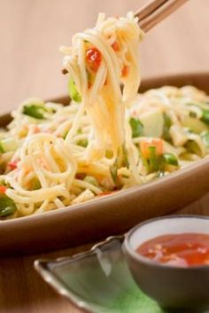 Mauritian Vegetables Fried Noodles: A Very Easy Vegetarian Dish