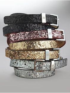 Everyone should own a glitter belt