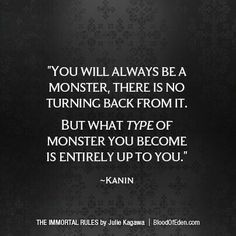 "Writing Prompts/""You will always be a monster, there is no turning back from it. But what type of monster you become is entirely up to you. Dialogue Prompts, Story Prompts, Writing Prompts, The Words, Poem Quotes, Life Quotes, Monster Quotes, Quotes About Monsters, Dark Quotes"