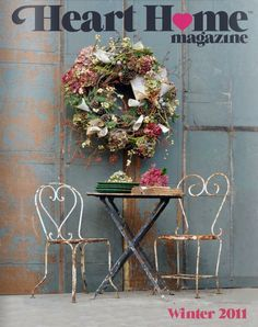 Heart Home magazine winter/2011 #decor #design #home #interior #quarterly #free