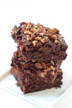Les bonheurs d'Anne & Alex: Brownie à la courgette (vegan)