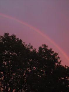 regenboog 7-09-'13 Rainbow, Clouds, Celestial, Sunset, Outdoor, Outdoors, Rainbows, Rain Bow, Sunsets