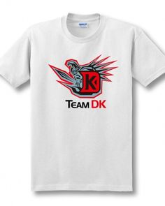 Dota 2 Team DK same paragraph t shirt for mens CF and CS ESports team tee-