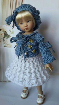 "OOAK Outfit for doll 13"" Effner Little Darling #DiannaEffner"