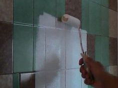 how to paint tile in a bathroom | how to paint over kitchen tiles, bathroom tiles or other tiles