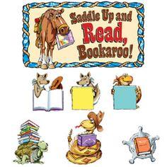 western bulletin board sets | Saddle Up And Read Bulletin Board Set from TeachersParadise.com ...