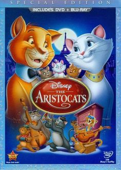 The Aristocats [Special Edition] [2 Discs] [DVD/Blu-ray] [Blu-ray/DVD] [1970]