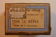 Boîte de 33 plumes grenade pour la ronde-Blanzy-Poure & cie n°1/ Réf 15   Collections, Ecriture, dessin, Plumes   eBay!