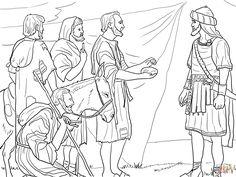 Dibujos para colorear Profeta Samuel Pginas para imprimir y