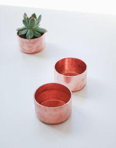 Julia Kostreva - Mini Copper Planter