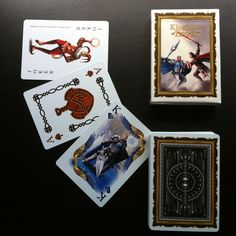 I've just launched the campaign for the second deck of Kingdoms of Erden Fantasy Playing Cards. Check out the project and get your decks on kickstarter. #kings #queen #jacks #knights #jokers #aces #elves #dwarves #fantasy #medieval #kingdomsoferden #elf #dwarf #armor #swords #throneroom #throne #playingcards