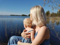Mom and daughter Suomi luonto Finnish nature