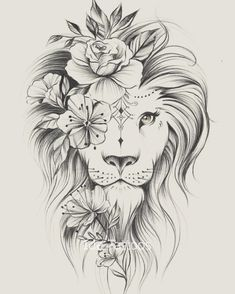 Find this Pin and many others in the Tattoo folder of Tattoo & Wall Art. - Find this Pin and many others in the Tattoo folder of Tattoo & Wall Art. Leo Lion Tattoos, Leo Zodiac Tattoos, Body Art Tattoos, Small Tattoos, Sleeve Tattoos, Lion Tattoo On Thigh, Tatoos, Lion Tattoo Design, Tattoo Designs