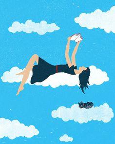Leer en las nubes.
