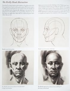 Reilly Head Abstraction Method By Nathan Fowkes