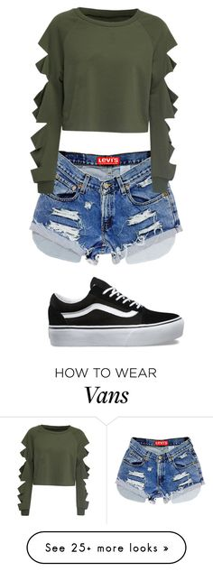 """Untitled #723"" by madelin-ruby on Polyvore featuring WithChic and Vans"