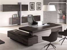 64 ideas for executive office furniture layout interior design Corporate Office Design, Office Table Design, Office Furniture Design, Office Interior Design, Furniture Layout, Office Interiors, Office Designs, Furniture Arrangement, Modern Home Office Furniture