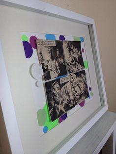 Vampire Attack - Vintage Comic Book Framed 3D Artwork on Etsy, $45.00 AUD