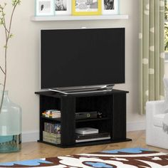 "Mainstays TV Stand with Side Storage for TVs up to 32"", Multiple Colors - Walmart.com"