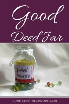 Islamic Crafts – Good Deed Jar