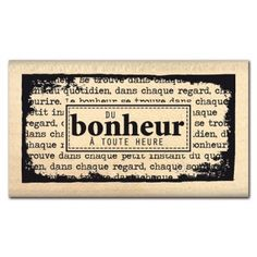 DU BONHEUR A TOUTE HEURE Tampons, Vintage Paper, Project Life, Wood Signs, Embellishments, Bullet Journal, Printables, Stamp, Messages