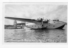 "Boeing 314 ""Yankee Clipper"" 1939 - Botwood in Newfoundland"