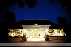 A beautiful clear evening at the King Valley Golf Club King City, Wedding Bells, Golf Clubs, Gazebo, Outdoor Structures, Mansions, House Styles, Building, Boston