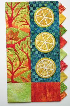 My lemontree quiltie...Designed and created by Denise Enberg