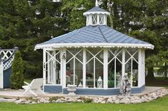StrandviksVillan: 2011-05-01 - 2011-06-01 Gazebo, Exterior, Outdoor Structures, Spaces, Kiosk, Outdoors, Cabana