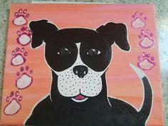 8x10 pup painting https://www.etsy.com/people/meganhanley523