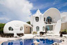 The Seashell House: http://www.playmagazine.info/the-seashell-house/