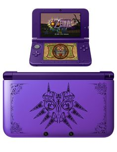 The Legend of Zelda: Majora's Mask 3DS XLs by Cameron Smith
