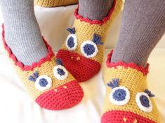 Warme Füße sind ein Muss! Und wenn uns diese süßen Küken-Hausschuhe warme Füße machen, dann doch sehr gerne! Diese Hausschuhe können Sie