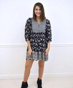 || Taylor Monroe Boutique || Lily Boho Dress