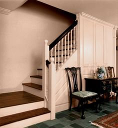 I want a staircase like this in my kitchen however I don't like the diagonal lines by the chair.