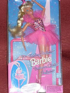 Totally forgot about her Twirling Ballerina Barbie, One of my all-time favorite barbies. 90s Childhood, My Childhood Memories, Vintage Barbie Dolls, Vintage Toys, Ballerina Barbie, Barbie Skipper, 90s Toys, Barbie Collector, Barbie World