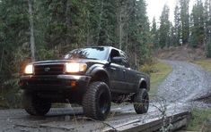 Toyota Trucks, Lifted Trucks, Pickup Trucks, Mudding Trucks, Lifted Tacoma, 1998 Toyota Tacoma, Future Trucks, Small Trucks, Classic Trucks