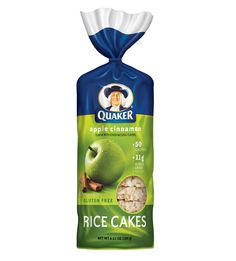 Quaker Rice Cakes - Caramel Corn - 1 pt per cake Rice Snacks, Healthy Snacks, Low Iodine Diet, Whole Grain Brown Rice, Flavored Rice, Gluten Free Rice, Dairy Free, Butter Popcorn, Italian Foods