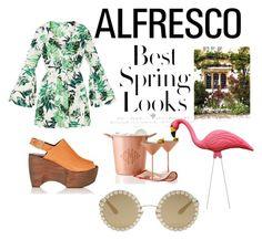 """spring has sprung"" by teelanistyled on Polyvore featuring Simon Miller, Dolce&Gabbana, H&M and Mark & Graham"