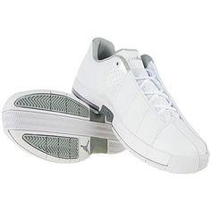 brand new 49b34 03f12 ... Air Jordan Team Elite II Low White Metallic Silver 2009 Nike ...