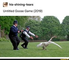 his-shining-tears Untitled Goose Game - iFunny :) Memes Humor, Funny Memes, Funny Gaming Memes, Funny Cute, The Funny, Hilarious, Shining Tears, Christian Memes, Find Picture