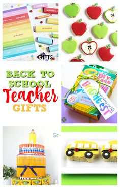 Best Teacher Gifts for Back to School: today I'm sharing my 5 favorite back to school teacher gifts - I like the school supply cake the best! These are all gits you children's teacher will really appreciate. Who doesn't like handmade and practical gifts? Back To School Teacher, Back To School Gifts, Cheap Gifts, Diy Gifts, Handmade Gifts, School Supplies Cake, Best Teacher Gifts, Free Printable Gift Tags, Practical Gifts