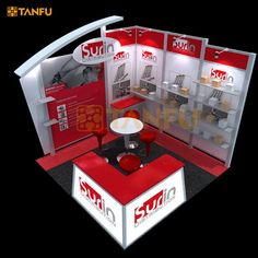 TANFU 10 x 10 or 3 x 3 Aluminum Tradeshow Display Booth for Expo, View Aluminum Tradeshow Booth, TANFU Product Details from Yangzhou Tanfu Exhibits Co., Ltd. on Alibaba.com