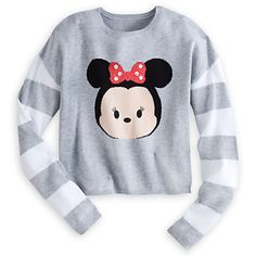 Minnie Mouse ''Tsum Tsum'' Cropped Sweater for Women